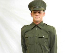 A world war one soldier uniform for hire