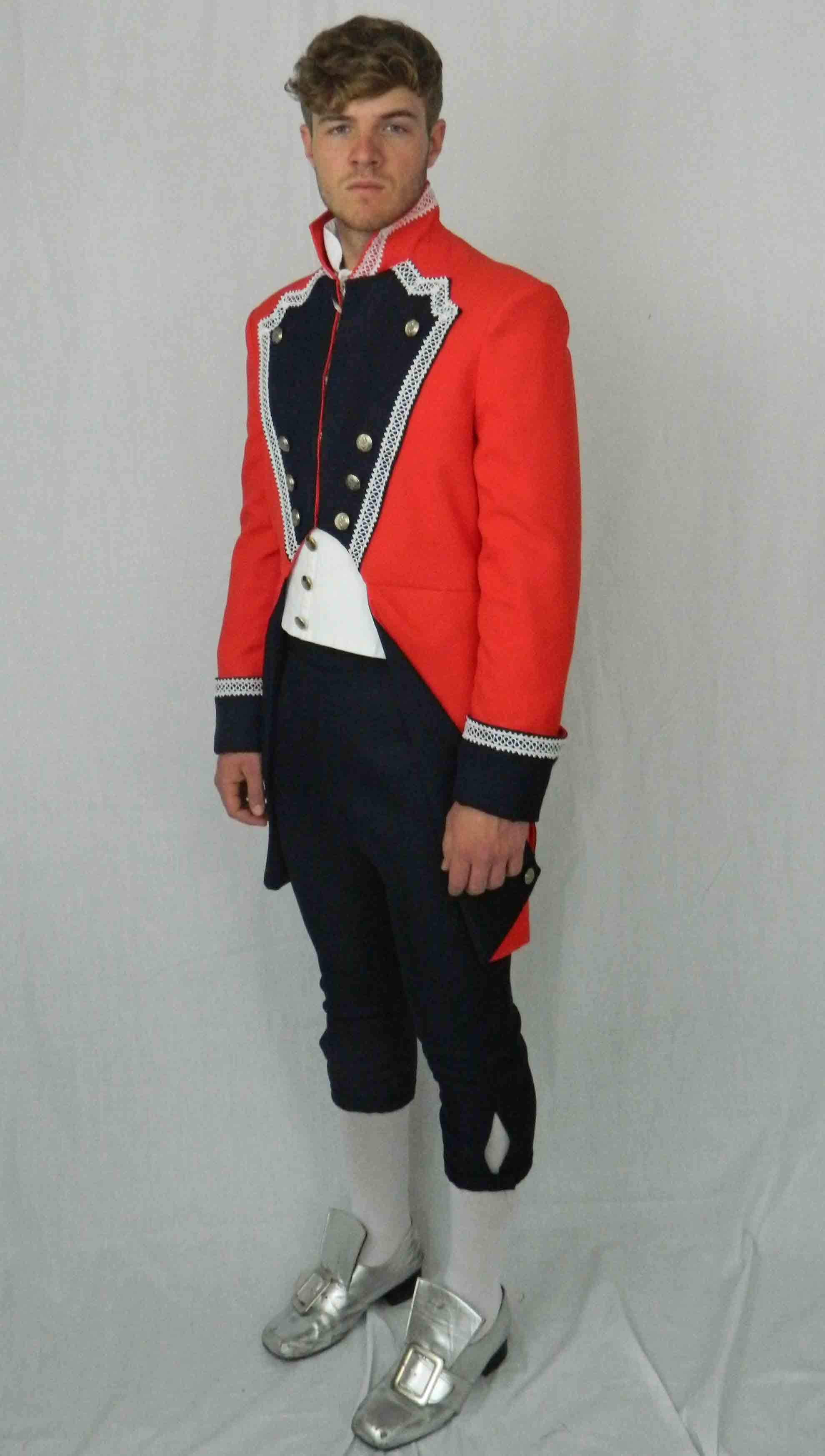 Prince Charming - Navy & Red