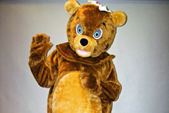 three bears costume hire